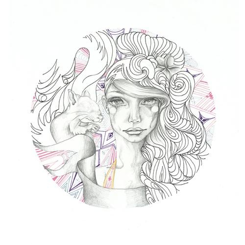 Round Drawings - Tarryn Gordon