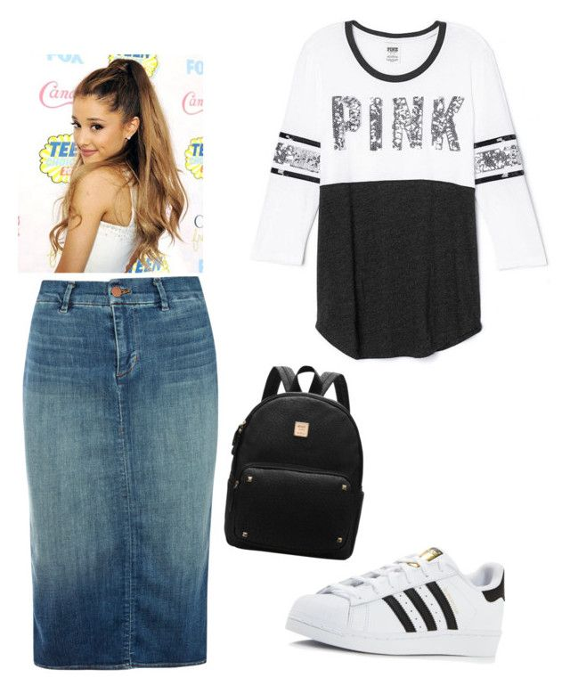 """SPortish"" by ohraee019 on Polyvore featuring J Brand, Victoria's Secret and adidas"