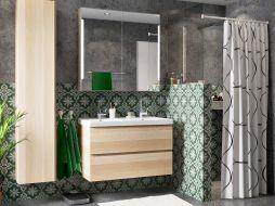 Maak een mix van materialen voor een badkamer naar jouw smaak
