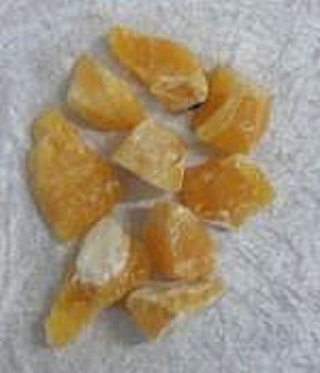 Orange calcite is a stone that is particularly helpful mentally.  It can relieve emotional fear, mental breakdown, depression, accidents, rape, divorce, suicidal thoughts.  It is particularly helpful with phobias.  Orange calcite restores mental and emotional equilibrium.