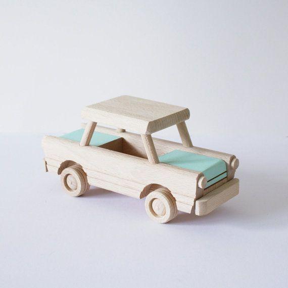 Houten auto speelgoed aangepaste naar door HappyLittleFolksShop