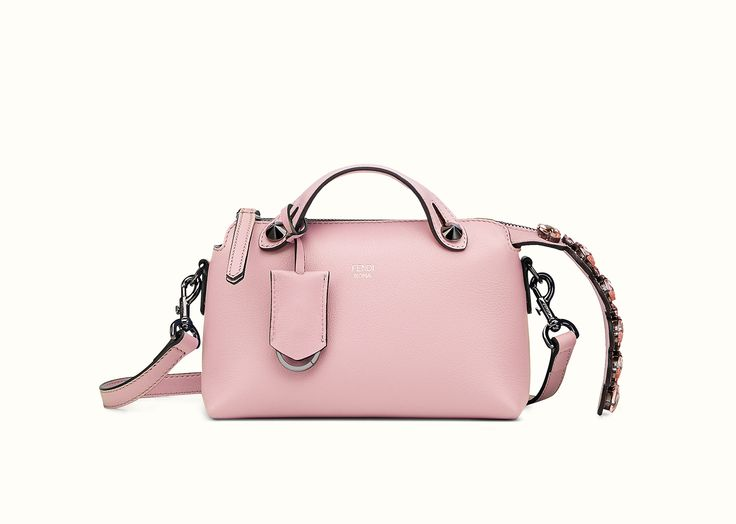 The Fendi By The Way Mini bag in soft bubble-gum pink leather.