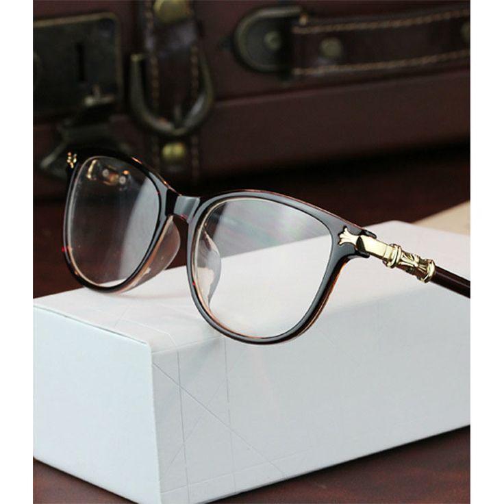 Brand Designer Womens Vintage Retro Eye Glasses Spectacle Frame For Women Optical Eyeglasses Frame Oculos de Grau Femininos
