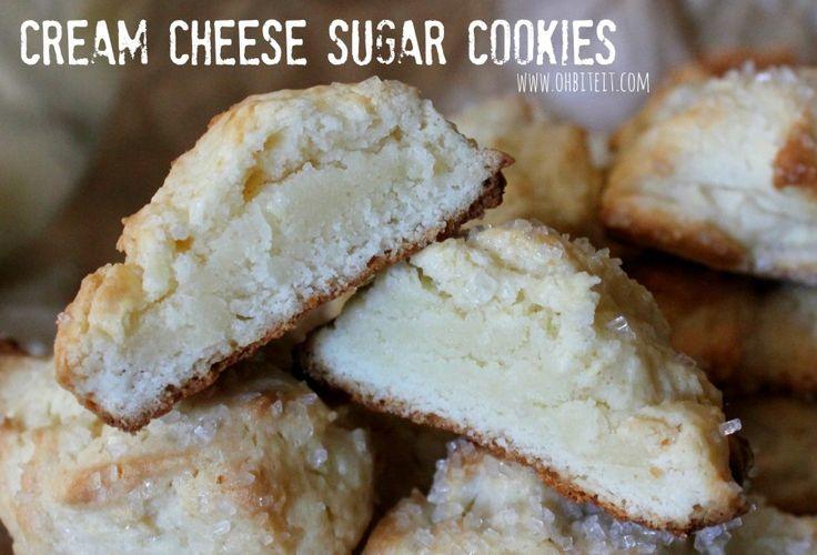 ~Cream Cheese Sugar Cookies!