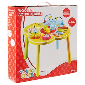 Young+Ones+Wooden+Activity+Table