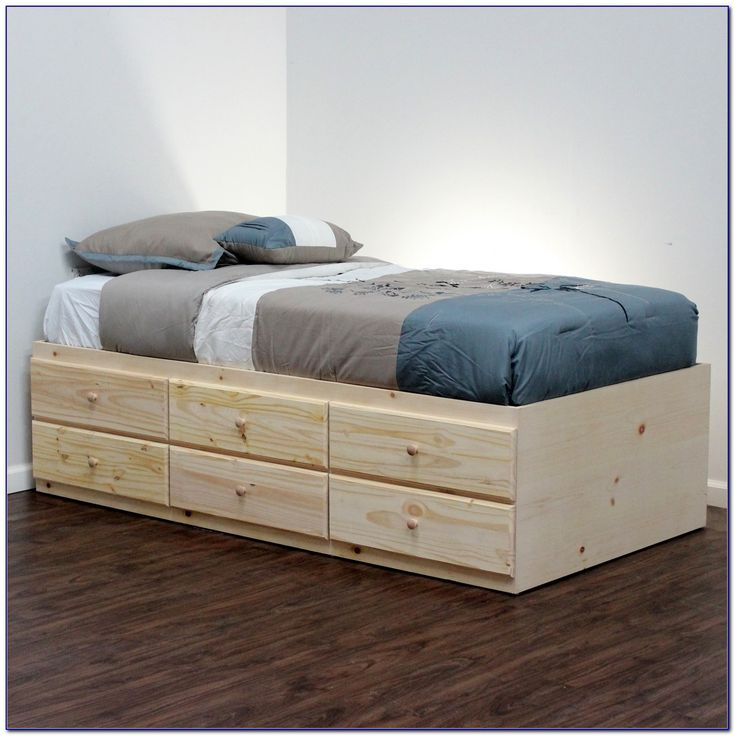 Xl Twin Bed Frame Ikea In 2019 Bed Frame With Storage