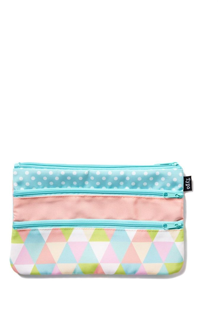 Store your stationery in style the Double Archer Pencil Case. This case is perfect for your stationery, cosmetics or cash. Boasting two zippered compartments and fully lined; this cases comes in seasonal designs with amazing prints and fabrics. Dimensions: 23cm x 15cm