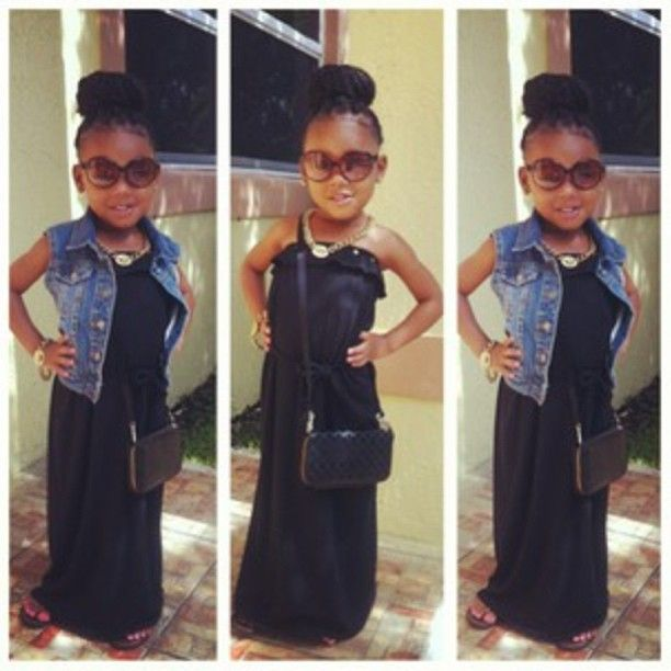 Kids Fashion Beautiful Black Kids Dope Kids Fashion Dope
