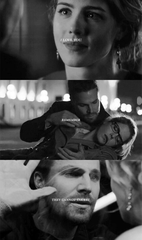 Oliver & Felicity #Arrow #Olicity