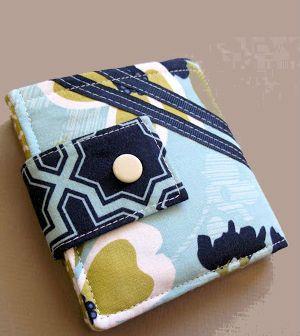 Confira já passo a passo como fazer um carteiro de tecido
