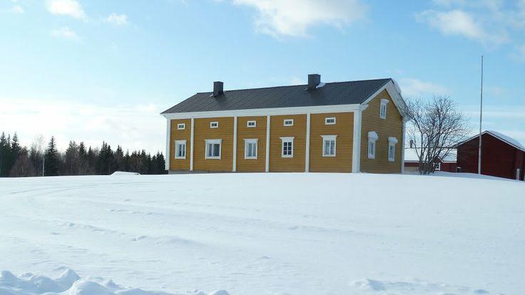 Luusua, vanha talo