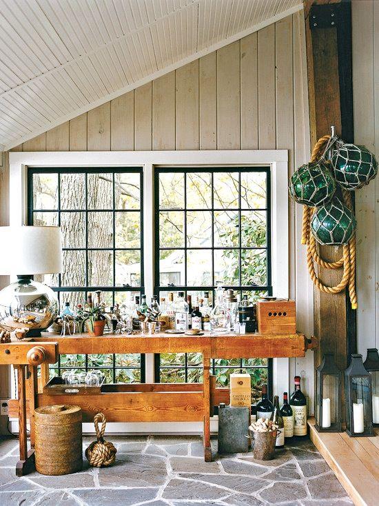 Porch. Lake HousesBar IdeasCool ...