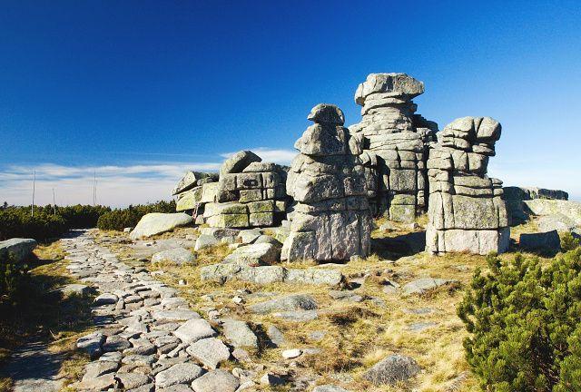 Dívčí kameny, Krkonoše