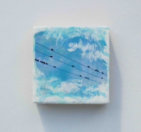 Hey, I found this really awesome Etsy listing at https://www.etsy.com/listing/71452512/high-wire-act-original-encaustic-photo