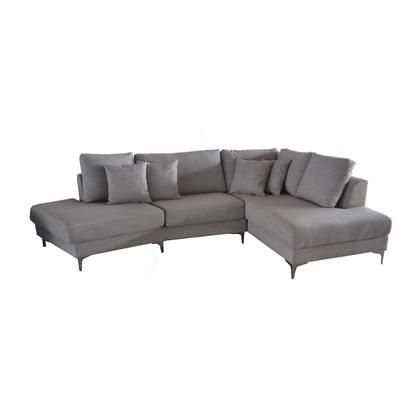 LUIGI SECTIONAL RIGHT DARK SILVER