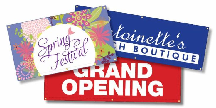 Promoting a brand new business? Do it with an amazing vinyl banner design!