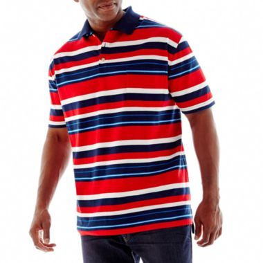 The Foundry Supply Co Jersey Pocket Polo Shirt Big