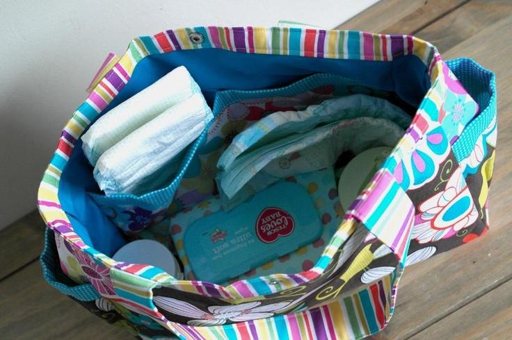 Abigail Nappy Bag / Baby Diaper Bag Pattern