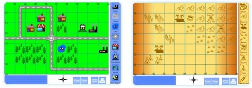 Click on Traditional Map Maker : Great Resource for Me on the Map Lesson Plans