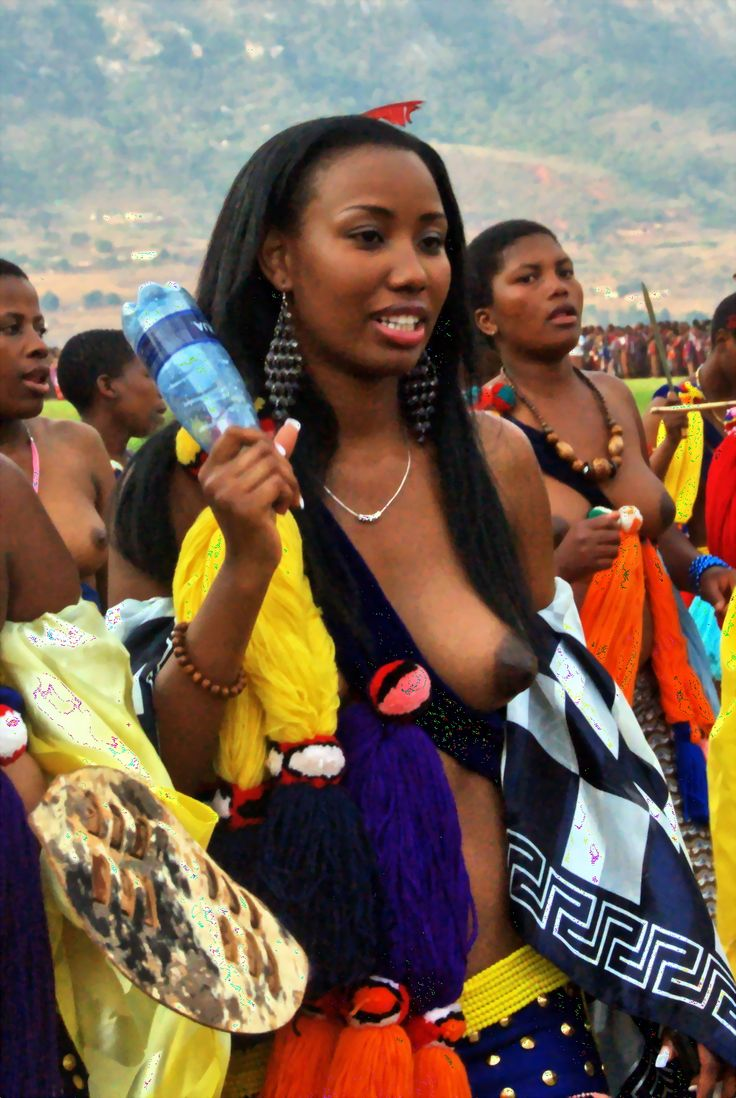 fat black zulu girls