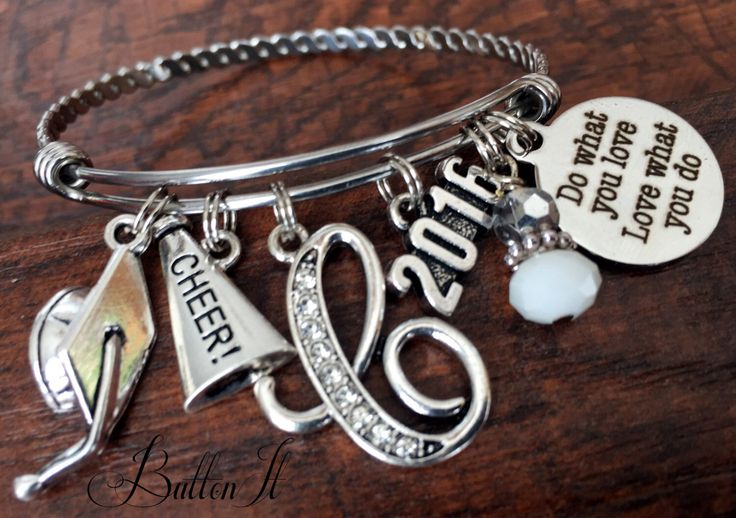 CHEERLEADING Gifts, CHEER, Senior gifts, Senior night, Graduate, Class of 2016, Graduation gift, Soccer gifts, She believed she could by buttonit on Etsy https://www.etsy.com/listing/267708754/cheerleading-gifts-cheer-senior-gifts