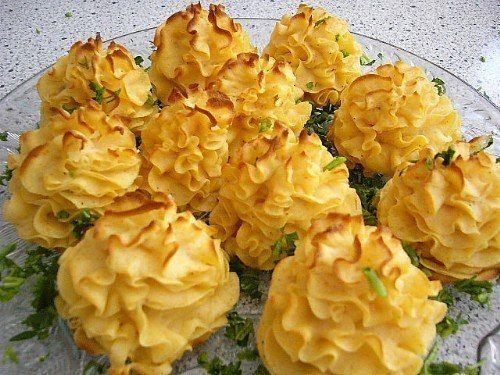 Картофельные розочки | Кулинарные Рецепты
