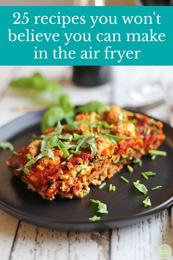 30 Vegan Air Fryer Recipes You Will Love Air Fryer Recipes Vegan Recipes Vegan Recipes Easy