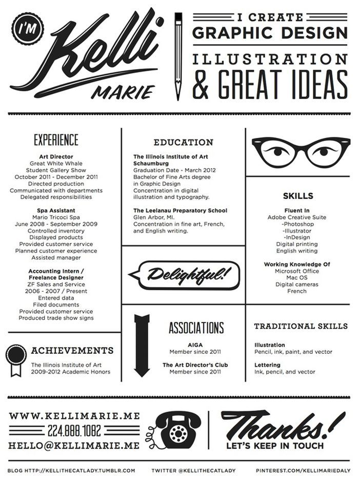 17 best resumes for artist images on Pinterest Resume ideas - killer resume samples