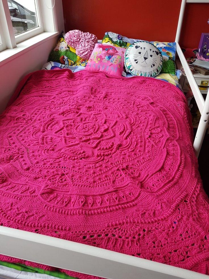 #crochet  #MandalaMadness . For Parker 2016 Xmas