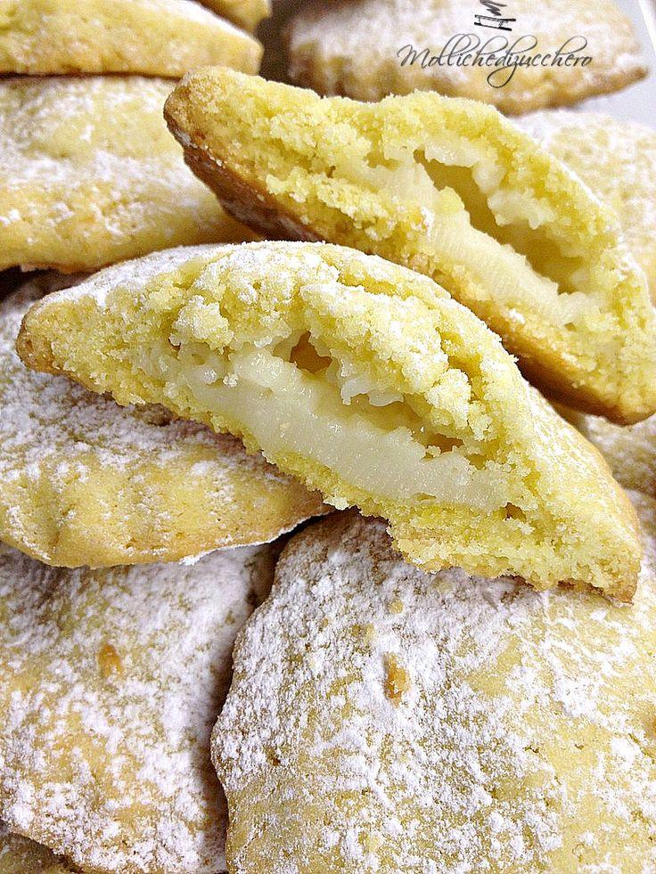 Biscotti al limone - Molliche di zucchero