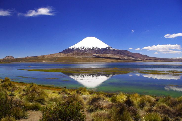Putre, Lauca National Park, Volcán Parinacota, Chile