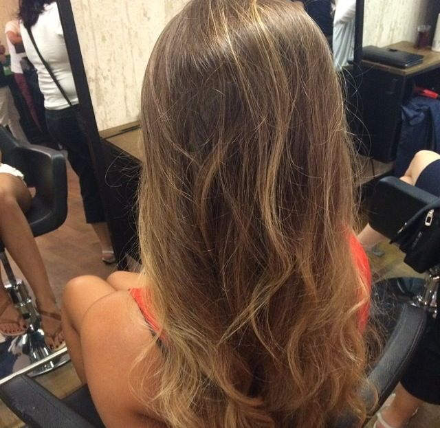 Kumral saçlar - brunette- hailt color