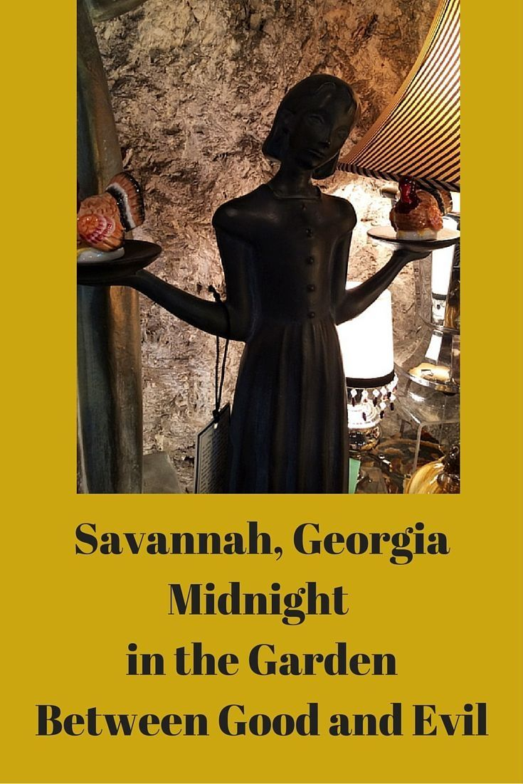 """Things to do in Savannah - Visit Bonaventure Cemetery, the setting of this book. Stepping foot in Bonaventure Cemetery with avenues of live oaks and quintessentially southern gothic look took my breath away. It captured me right from the moment I saw it. The title of the book alludes to the hoodoo notion of """"midnight"""", the period between the time for good magic and the time for evil magic, and """"the garden of good and evil"""", which refers principally to Bonaventure Cemetery."""