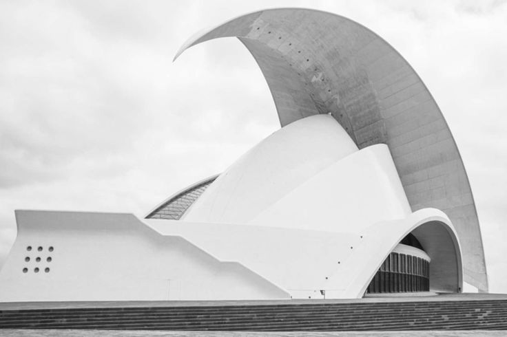 AUDITORIO DE TENERIFE Santiago Calatrava Architects Felix Löchner Architektur Fotograf Berlin www.sichtkreis.com