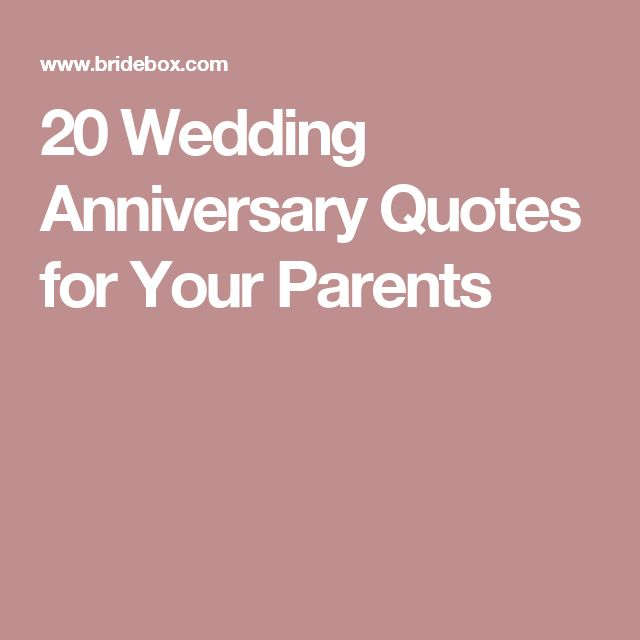 Quotes About 20 Years Of Marriage: 1000+ Parents Anniversary Quotes On Pinterest