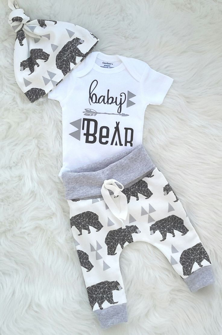 Coming home outfit/baby boy/ take home outfit/ newborn boy/baby bear/organic cotton by bibitibobitiboutique on Etsy https://www.etsy.com/ca/listing/471790319/coming-home-outfitbaby-boy-take-home