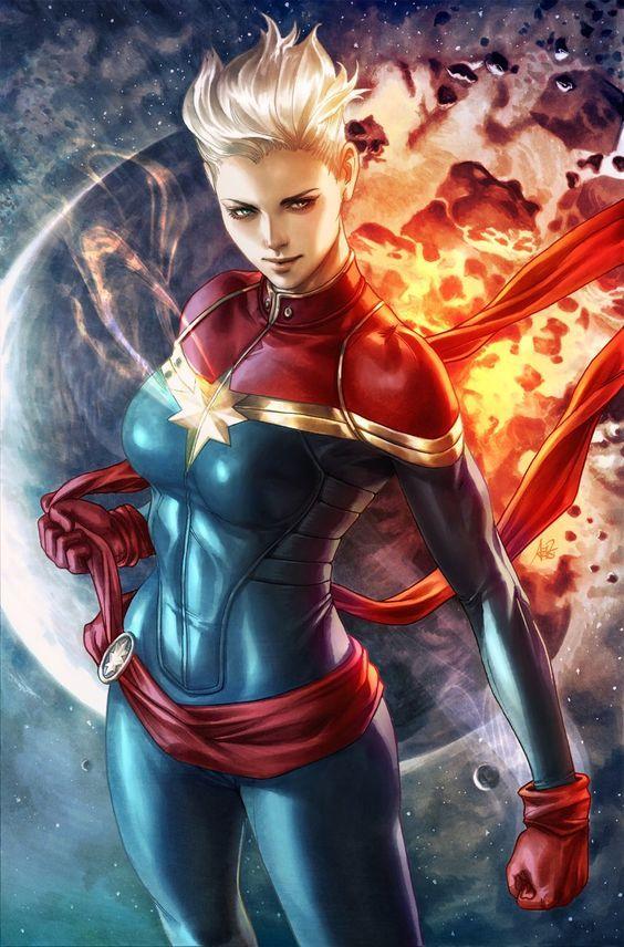 Capitana Marvel Marvel Comics Marvel Superheroes Captain Marvel