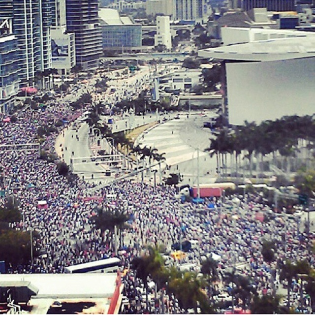 The City of Miami poured onto the streets yesterday to celebrate the Miami Heat's 2nd NBA Championship. HIPSTAR CONGRATULATES THE HEAT AND THE CITY OF MIAMI! Continue to keep it classy...