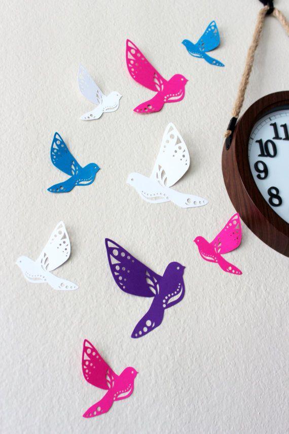 Best 25+ Bird wall decals ideas on Pinterest   Bird wall ...