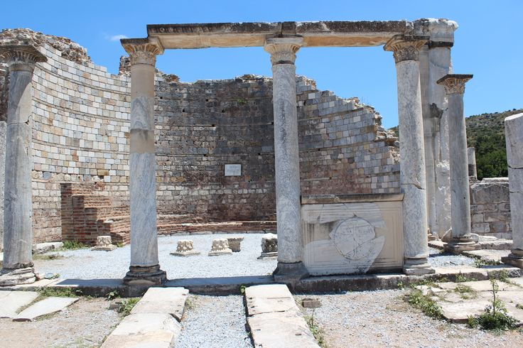 The alter of the Church of Mary in Ephesus.  The Third Ecumenical Council was held here in 431 AD.