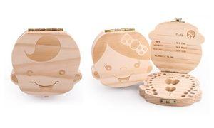 Groupon - Una o 2 scatole per dentini da latte disponibile nei modelli per bambina o bambino. Prezzo deal Groupon: €9,99
