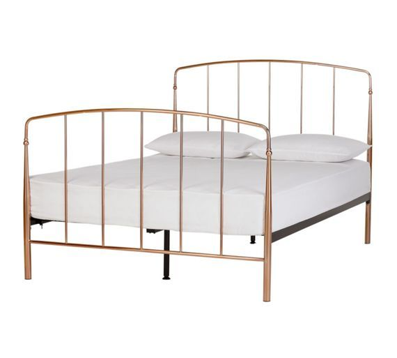 Buy Collection Aurelie Double Bed Frame - Rose Gold at Argos.co.uk ...