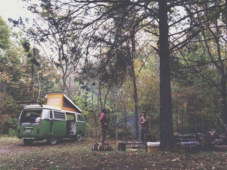 Westfalia Camping in the Ozarks - Camp Trend