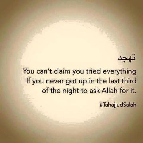"""How do I pray Tahajjud? Is there any dua to say before starting?"" Learn all about #Tahajjud:"