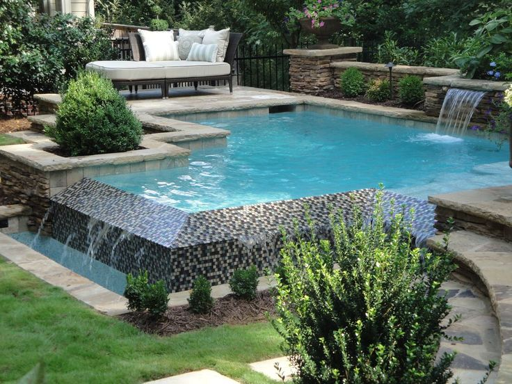 30 best images about pool designs on pinterest pool for Pool edges design