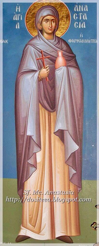 St. Anastasia - December 22