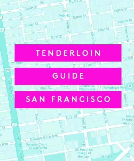 15 Cool Things To Do In The Tenderloin #refinery29  http://www.refinery29.com/tenderloin-san-francisco