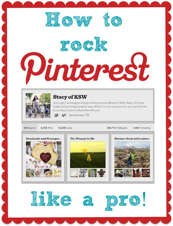 How to Rock Pinterest