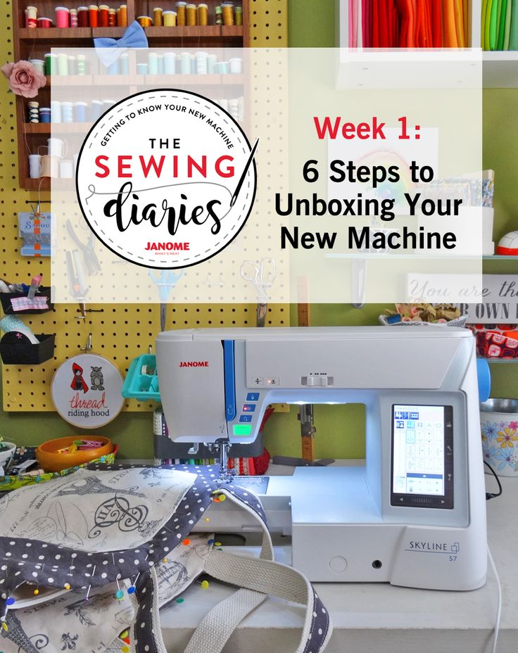 Getting to know your new Janome Skyline S7 sewing machine | Unboxing your new machine | Janome sewing feet and attachments | The Janome Skyline S7 is for sale during our Annual Spring Sale-a-Thon at K-W Sewing Machines in Kitchener, Ontario! Plus, we include free lessons, which make getting to know your new machine a breeze.