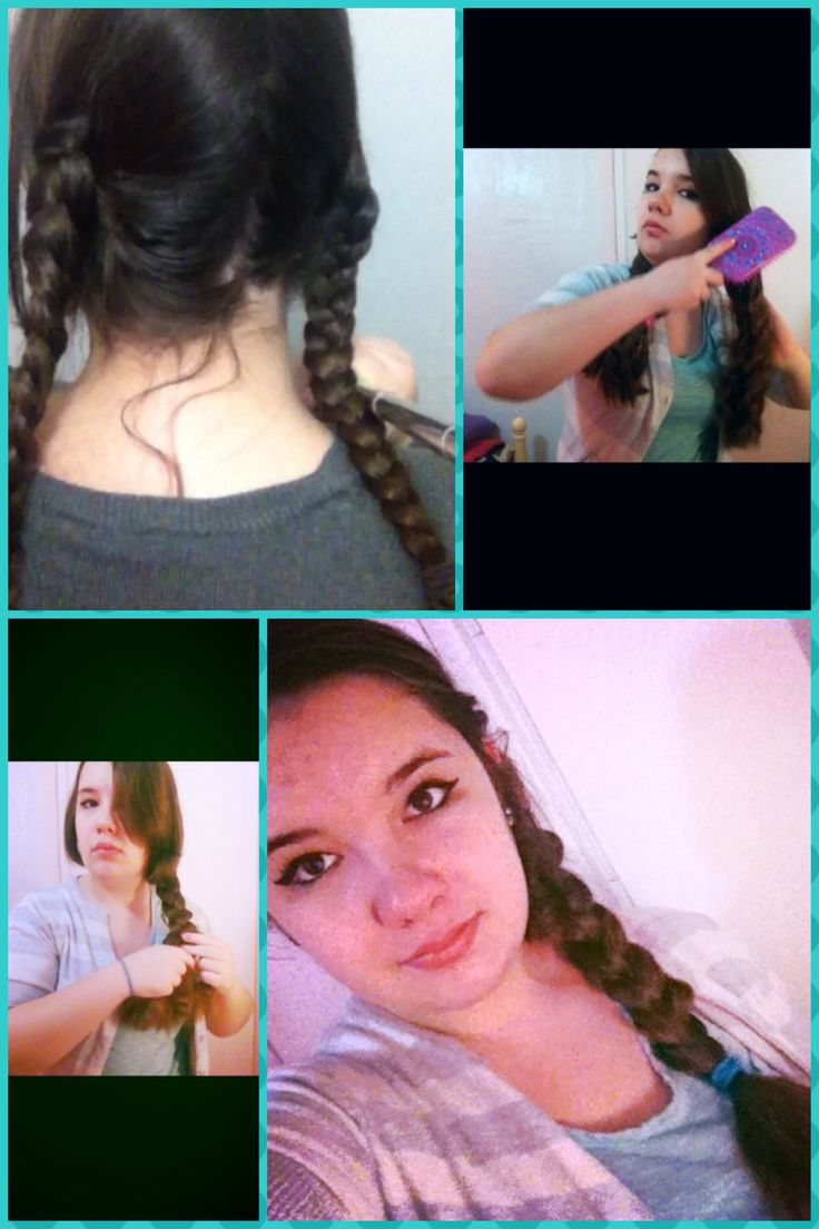 Big Side Braid: 1) Sleep with hair in braids to make it wavy. 2) In the morning, take braids out and brush hair to make it big and fluffy. 3)Gather hair to the side and loosely braid.